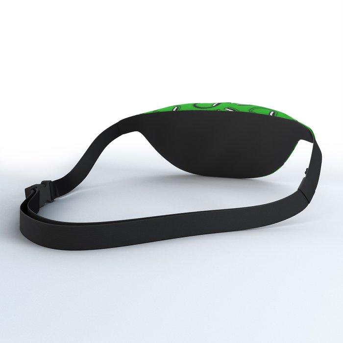 Headphones-Green Fanny Pack