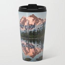 Cascade Sunset - Mt. Shuksan Travel Mug