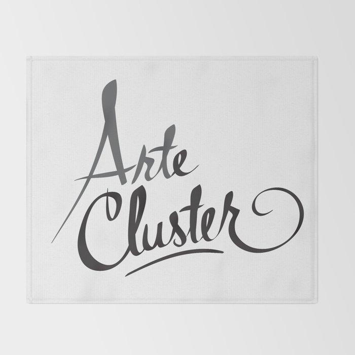 Arte Cluster Throw Blanket