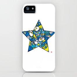 BLUE STAR iPhone Case