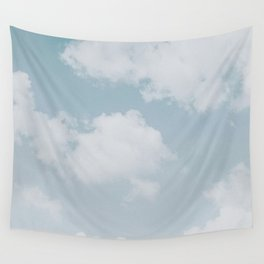 summer clouds Wall Tapestry