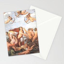 Triumph of Galatea by Rafaello Stationery Cards