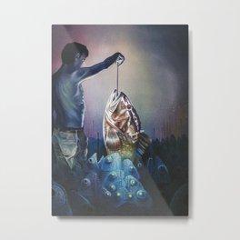 Alessandro Fantini  Quidditas 2015 Oil On Canvas 50X ... Metal Print