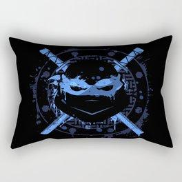Leonardo Turtle Rectangular Pillow