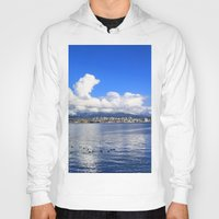 vancouver Hoodies featuring North Vancouver by Chris Root