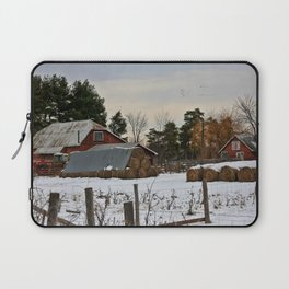 Day's end at the farm Laptop Sleeve