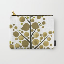 Gold Tree Carry-All Pouch