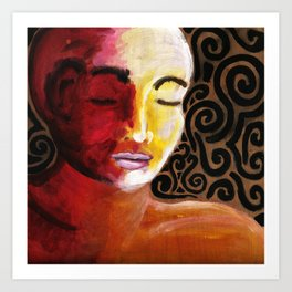 Meditative Contemplation #2 Art Print