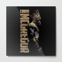 CONOR MCGREGOR Metal Print