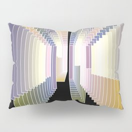 Tonal degradation Pillow Sham