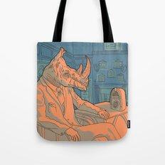 Being a rhino like a sir Tote Bag