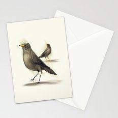 Chilean Fieldfare Stationery Cards