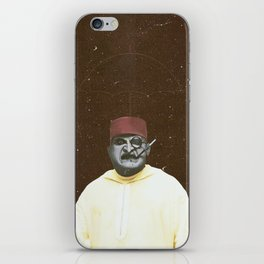 The Penguin  Moroccan style iPhone Skin