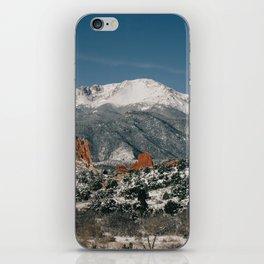 Snowy Mountain Tops iPhone Skin