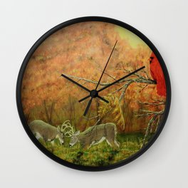 Nature's Witness Wall Clock