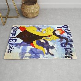 Vintage poster - Palais de Glace Rug