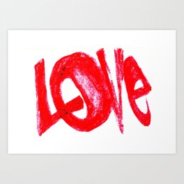 more love Art Print