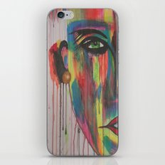 rain art iPhone & iPod Skin