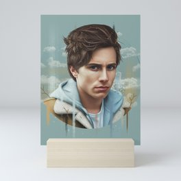 OCEAN EYES Mini Art Print