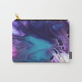 Turquoise Puddle Carry-All Pouch
