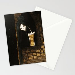 Mademoiselle Noir Stationery Cards
