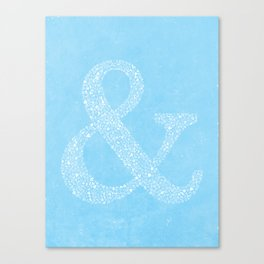 Ampersand of Ampersands Canvas Print
