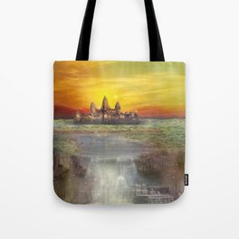 Temple Station Tote Bag
