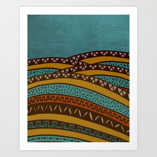 Textures/Abstract 43 Art Print