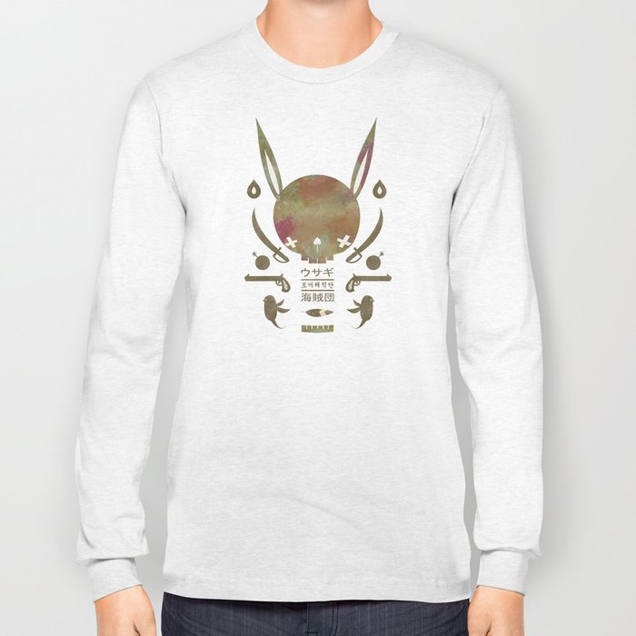 토끼해적단 TOKKI PIRATES Long Sleeve T-shirt