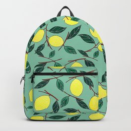Lemon lemonade Backpack