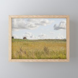 Lone Trac Framed Mini Art Print