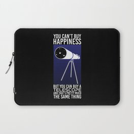Astronomy - You Can't Buy Happiness Laptop Sleeve