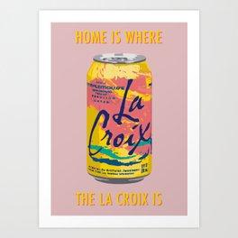 Pamplemousse La Croix Art Print