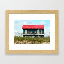 Coastal Home Framed Art Print