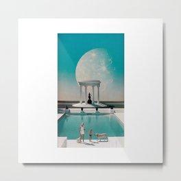 'Poolside' Metal Print