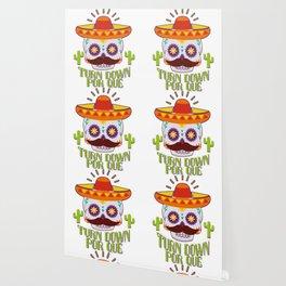 Skull Turn Down Por Que For Cinco De Mayo Party Wallpaper