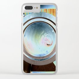 Working Hard Clear iPhone Case