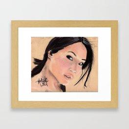 Lucy Lui Framed Art Print