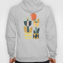 Two flowers Hoody