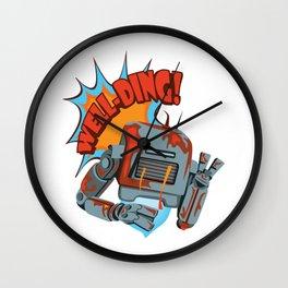 SHITBOT Wall Clock