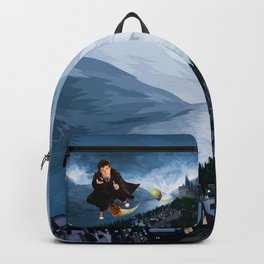 10th Doctor who lost in the wizard World Backpack