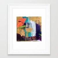 ganesh Framed Art Prints featuring Ganesh by Prema Designs