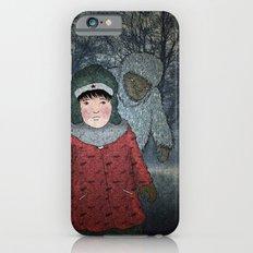 Посмотри! Йети - Beware of the Yeti!  iPhone 6s Slim Case