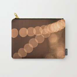 Lights Shine in Night Skies Carry-All Pouch