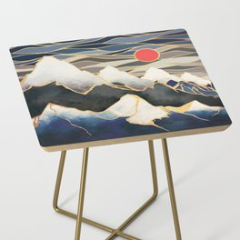 Ice Mountains Side Table