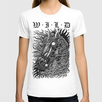 occult T-shirts featuring Occult horse by Iria Alcojor