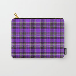 Lunchbox Purple Plaid Carry-All Pouch