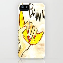 BANANA!! iPhone Case