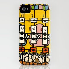 VIDEO CHICKENBOT INSPECTORS and the GOLDEN EGG MERRY-GO-ROUND Slim Case iPhone (4, 4s)