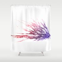 alchemy Shower Curtains featuring Alchemy experiment 4 by garciarts